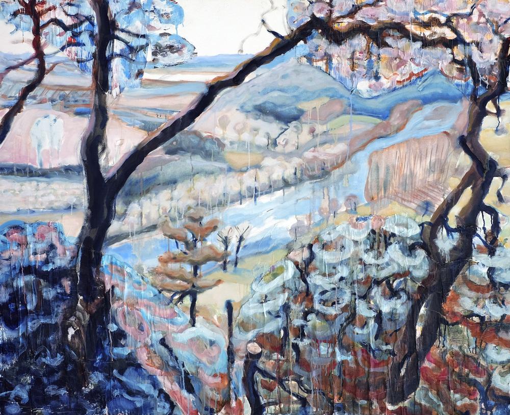 Dordogne 3 // 162 x 130 cm