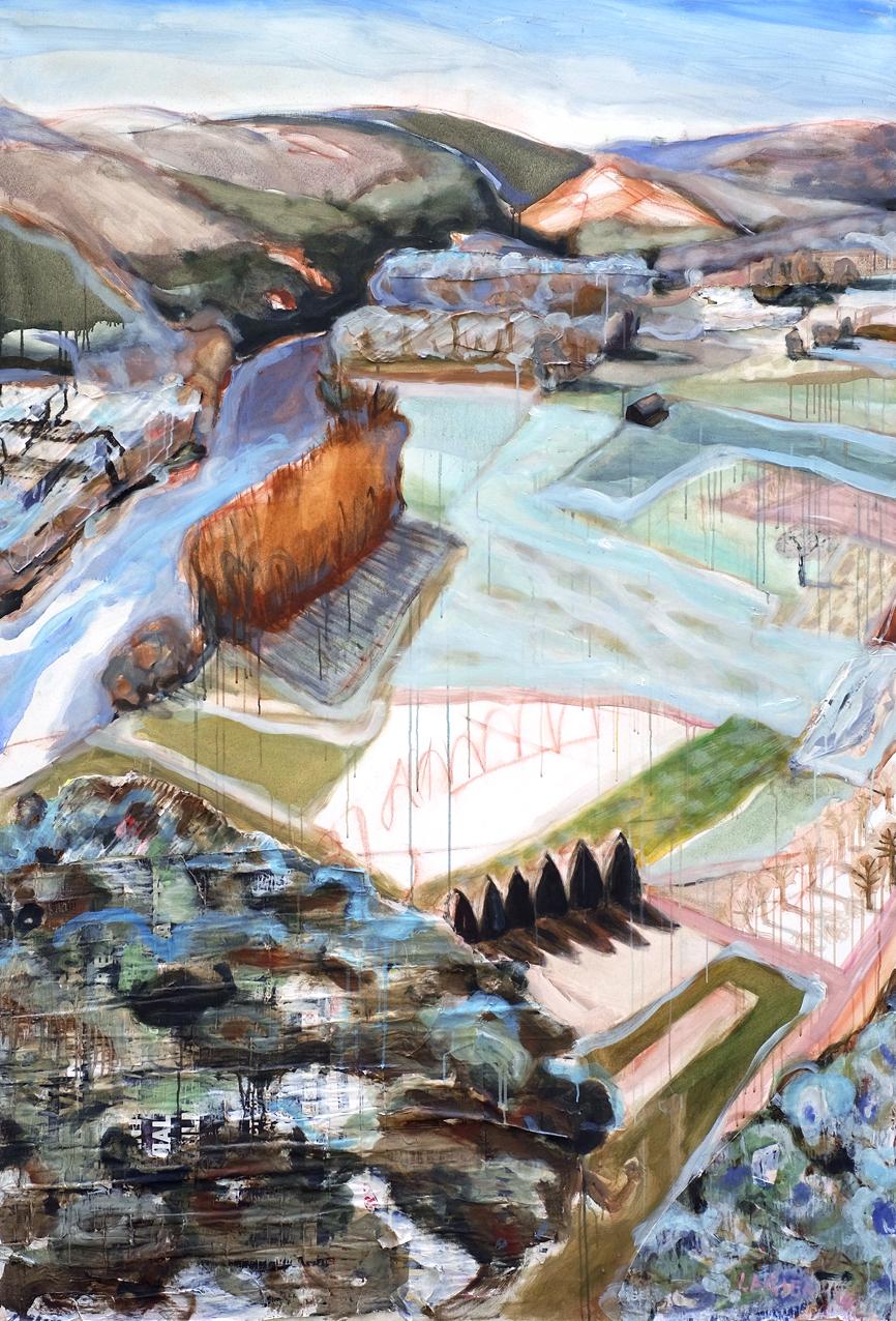 Grande Dordogne // 162 x 130 cm