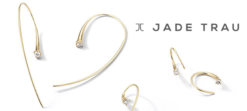 Jade Trau Ara Hoop Earrings