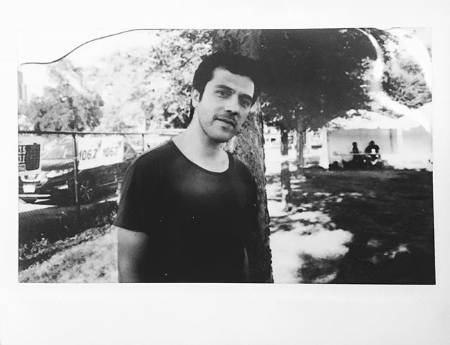 #tbt to @gepegepegepe taking this Instax at @ruidofest around the press area! Check him out tomorrow at @subtchicago !!! #gepe #subt #chi #chicago #ruidofest #ruido #instax #fujifilm #instantfilm #blackandwhite #bw #iseedust #vsco #vscocam #yay #subterranean #ruido