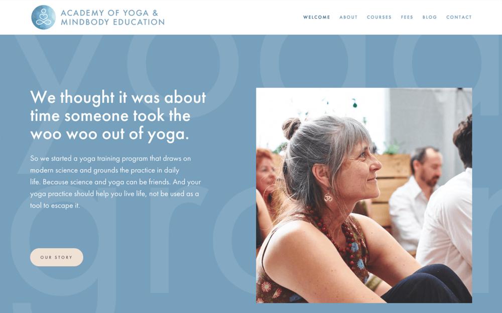 Academy of Yoga and Mindbody Education