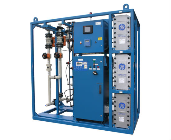 Electro-Deionization (EDI) equipment from GE Water is sold by Pure Flow