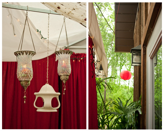 Adding ambiance to a party | Erin Beutel Photography