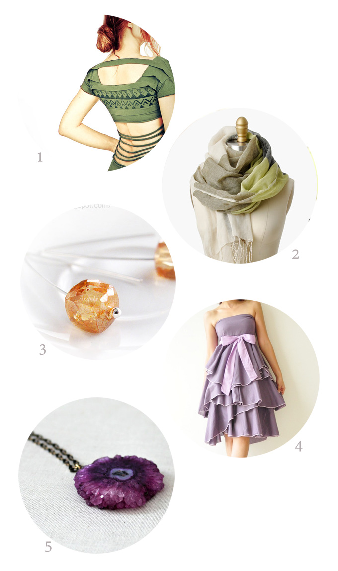 September Sunset color inspiration Accessories