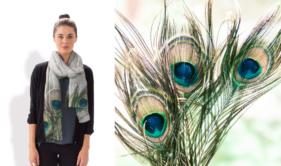 Jeweled Scarf - Erin Beutel for VIDA