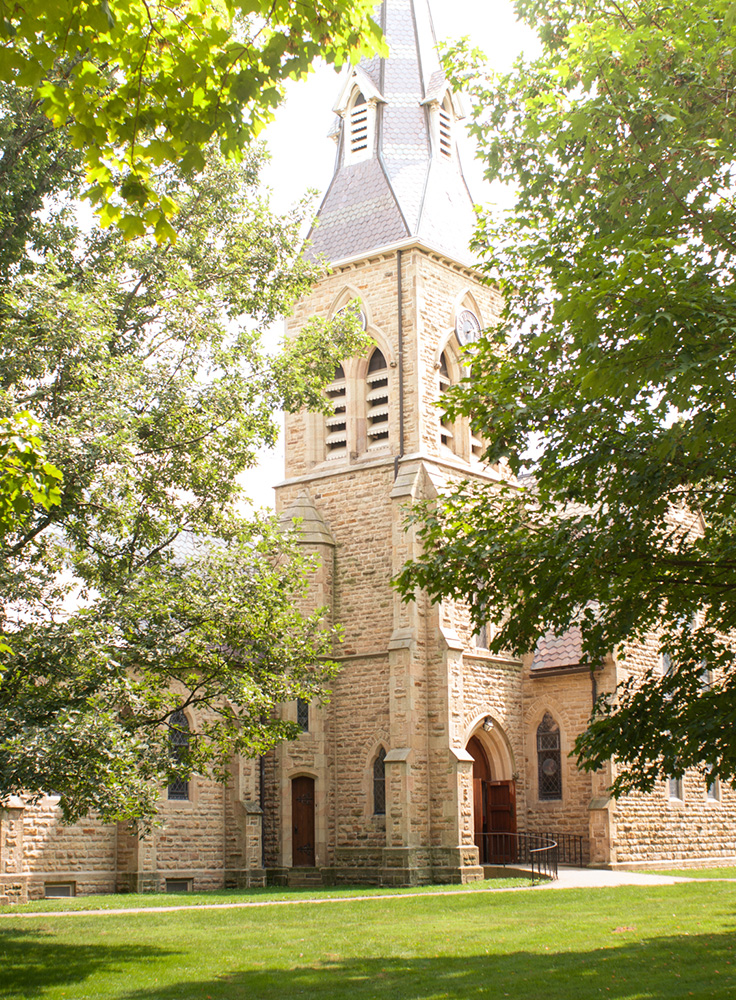 Kenyon College Chapel | Erin Beutel Photography