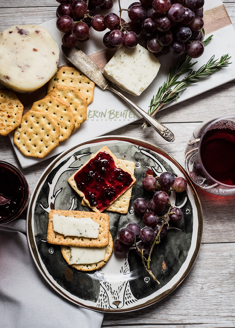 Wine and Cheese Photoshoot | Erin Beutel Photography