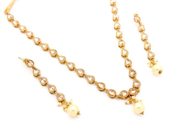 jewellery feminine weighted gold design set for lightweight kids necklace light