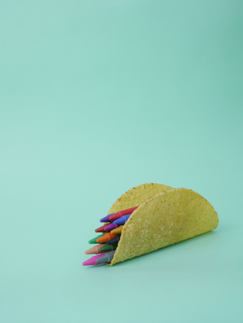 Colorful dreams taco.
