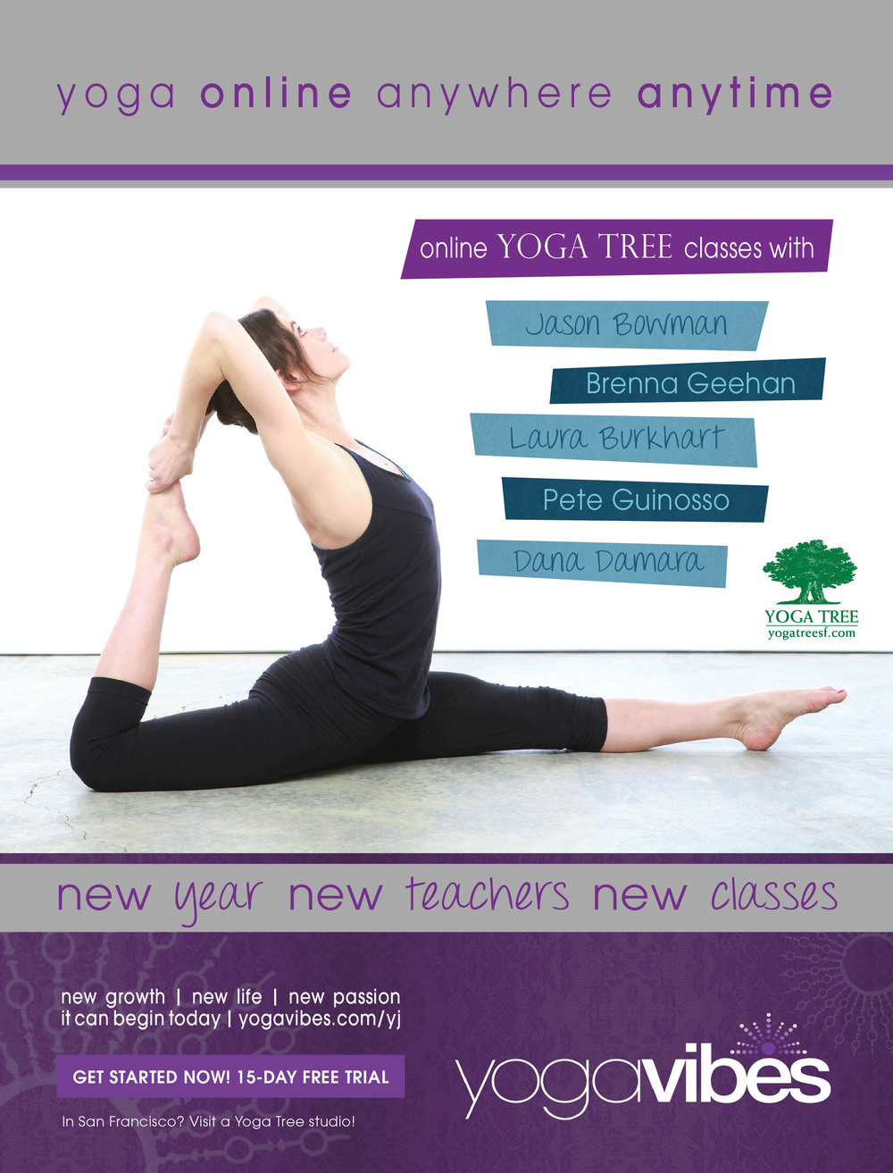 Yoga Journal USA - January 2014