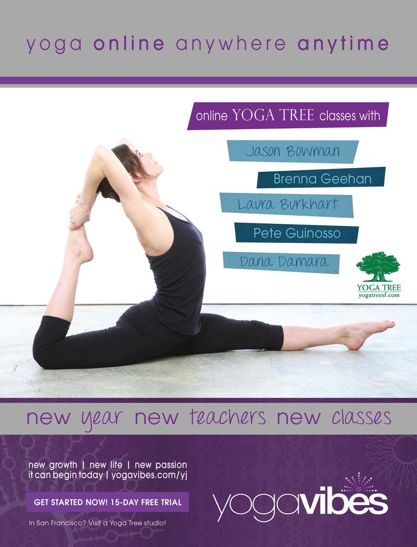 Yoga Journal USA - January 2014