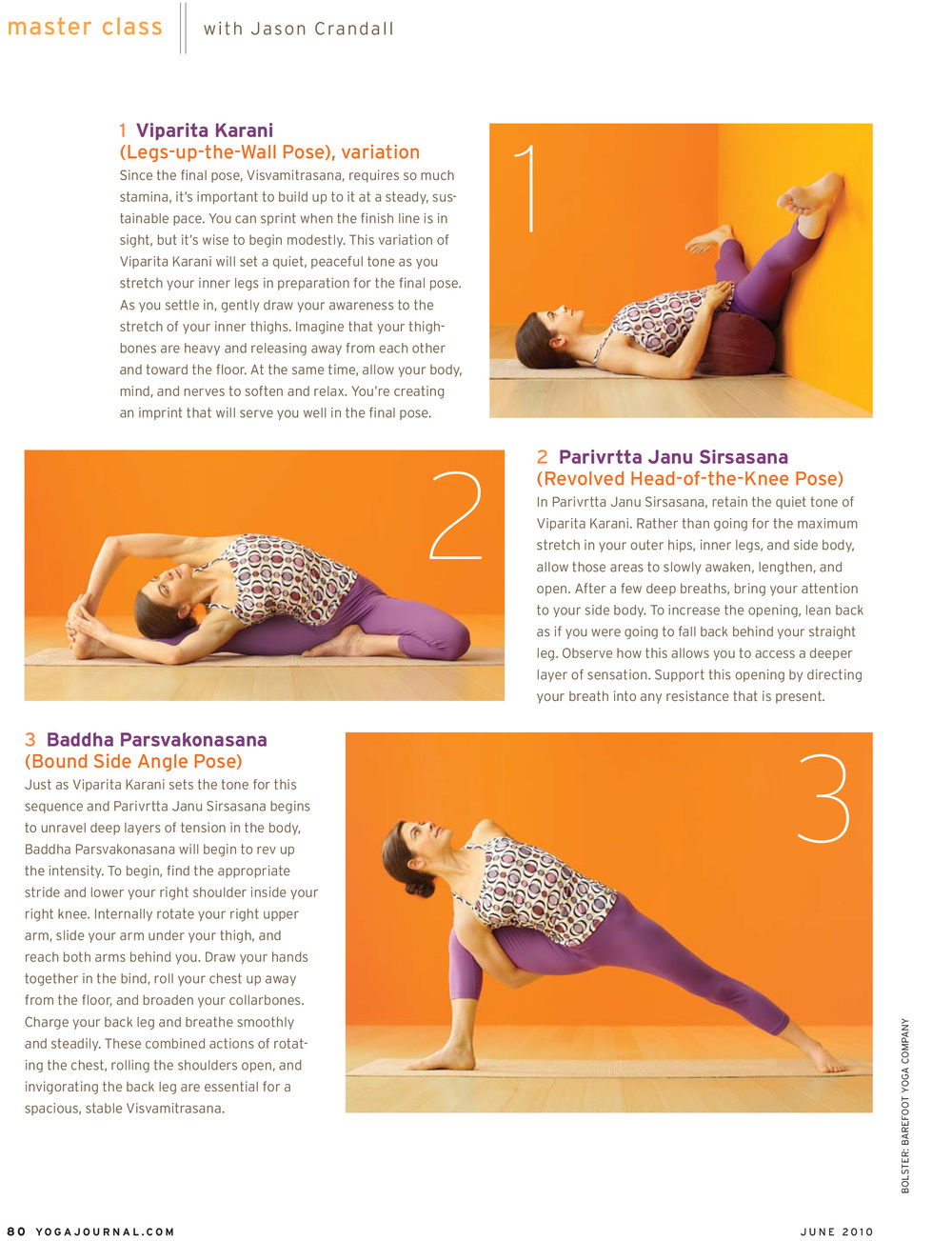 Copy of Yoga Journal USA - June 2010