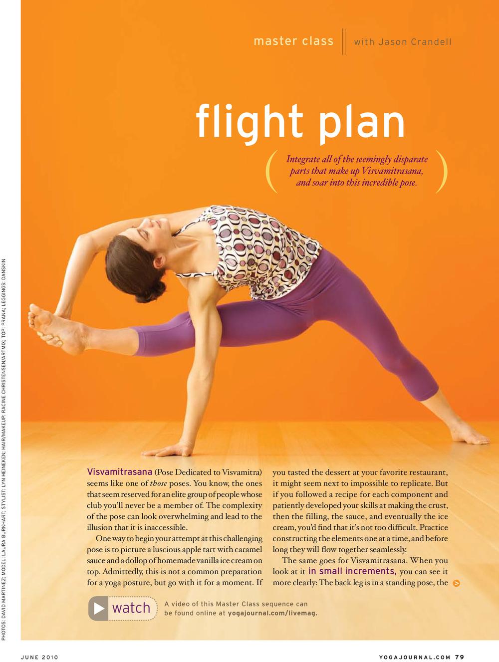 Yoga Journal USA - June 2010