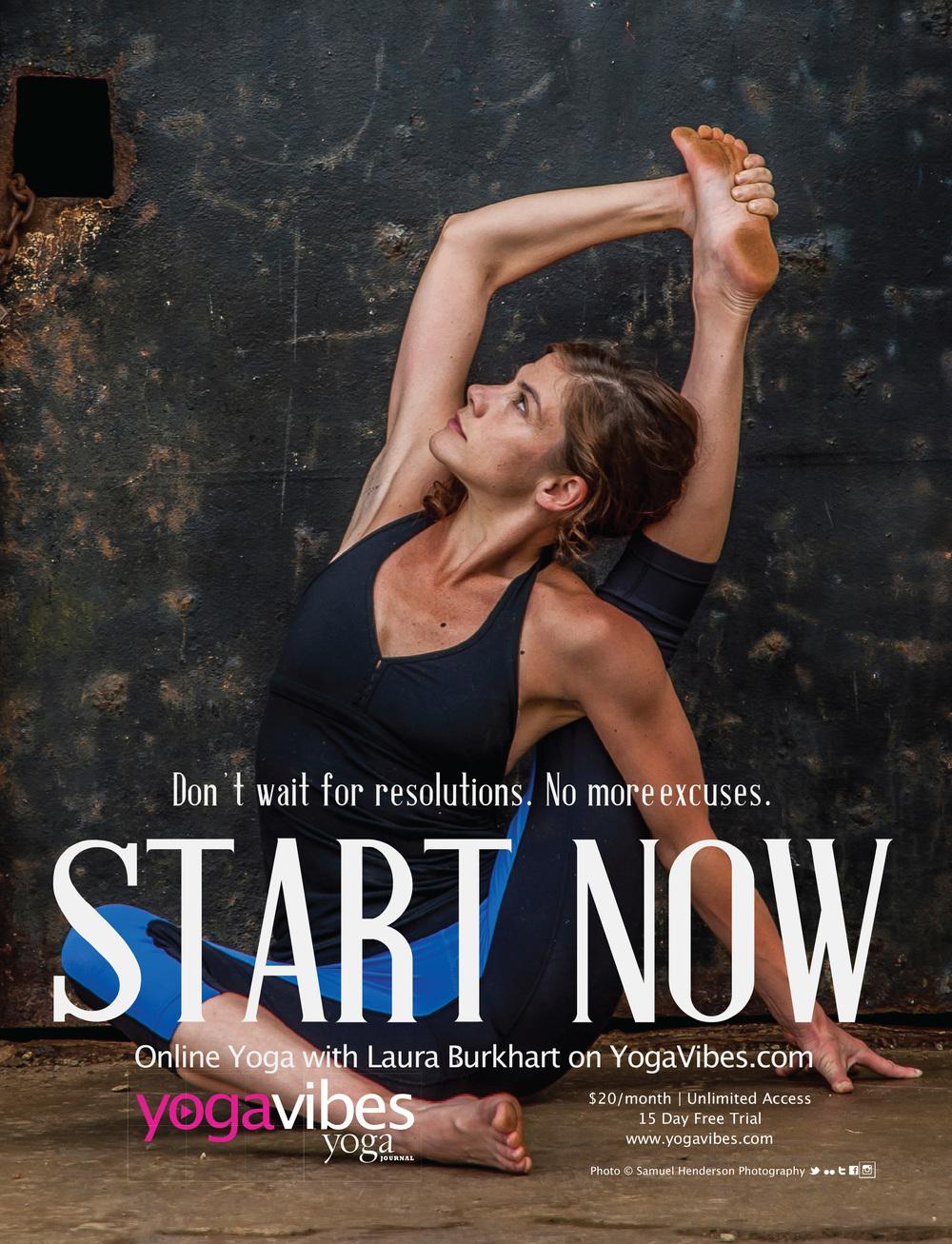 Yoga Journal USA - December 2014