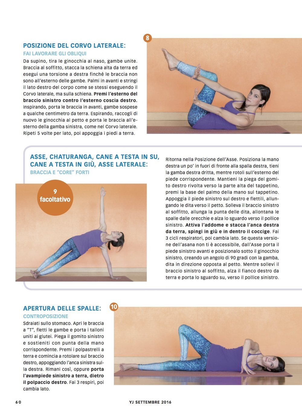Yoga Journal Italy - September 2016