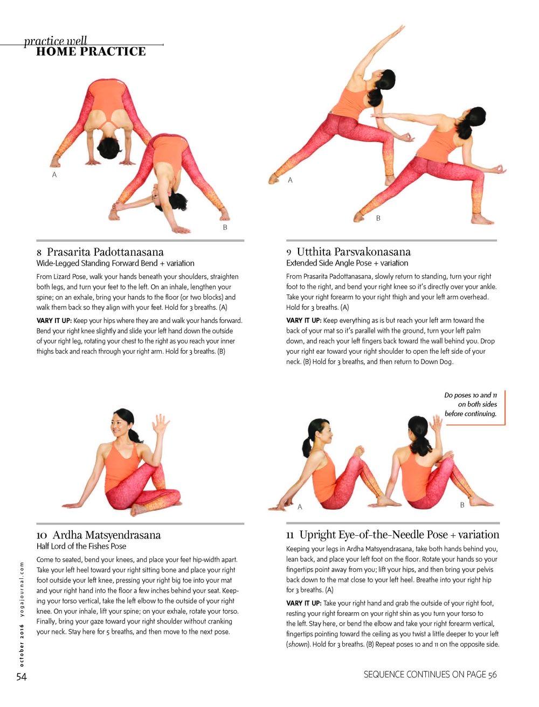 Copy of Yoga Journal USA - October 2016