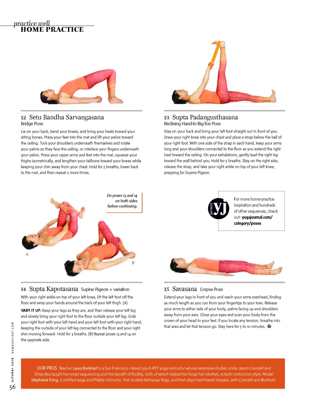Copy of Yoga Journal USA - October 2016
