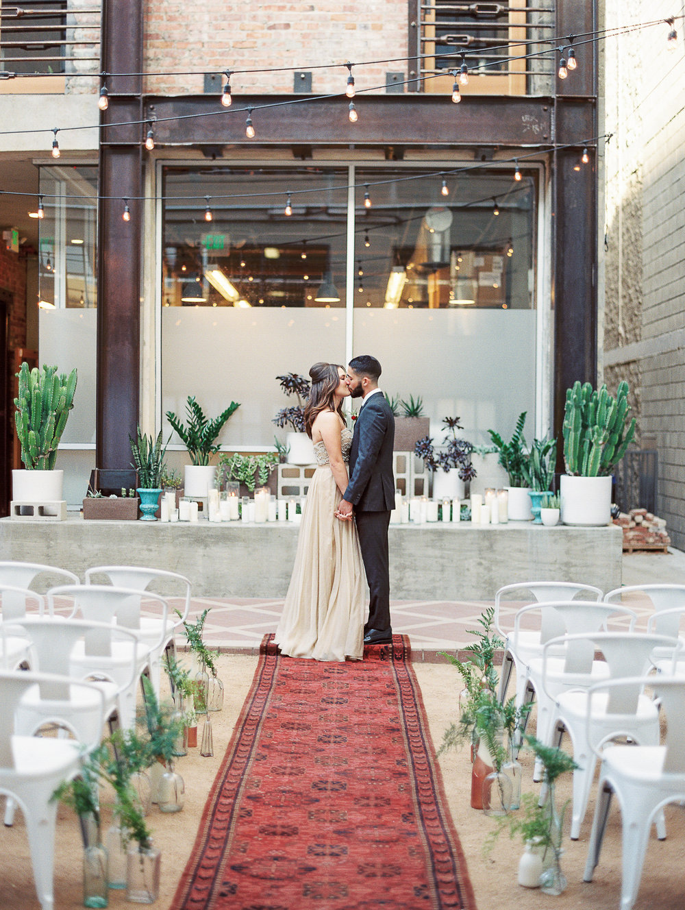 Wedding at Howl in Long Beach | Green Apple Event Co | Southern California Wedding Design | Sposto Photography