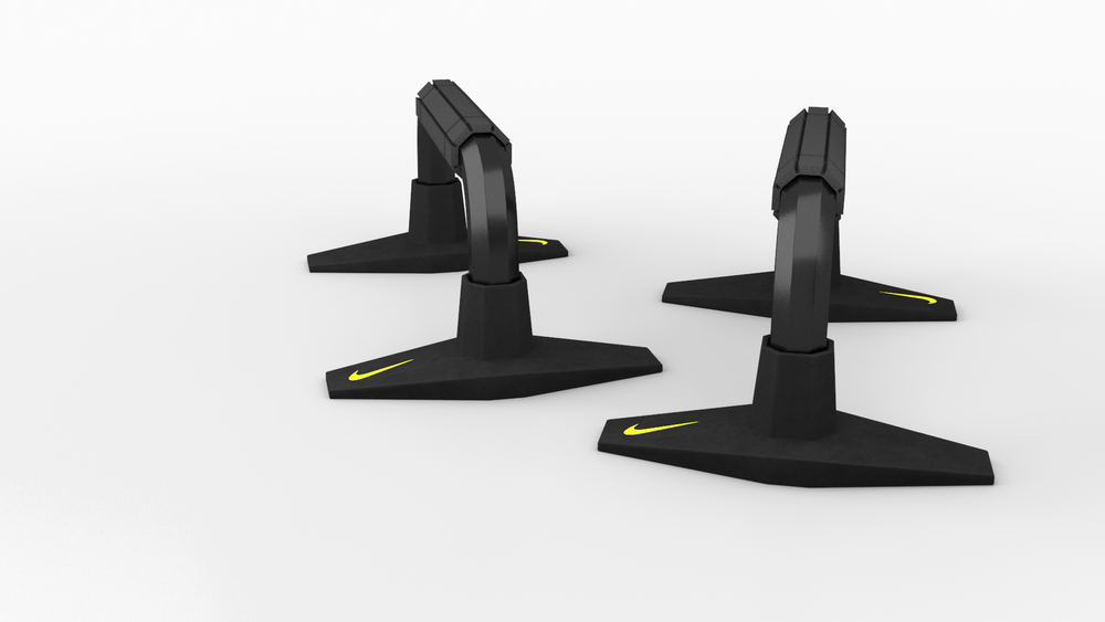 Nike Push-Up bar for Turbosquid