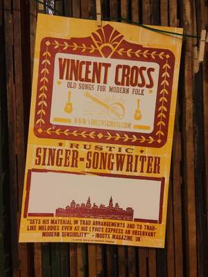Hatch Print Old Songs for Modern Folk Poster.JPG