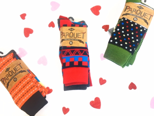 Men's multicolor socks........$12