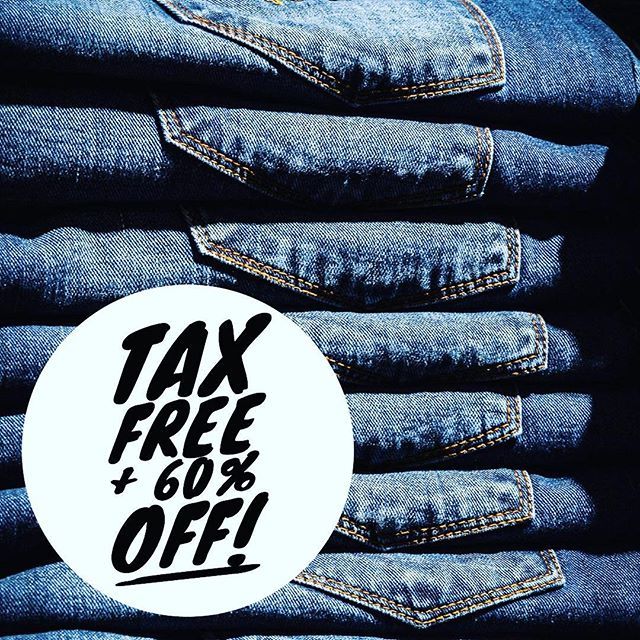 Everything is #TaxFree and 60% off! You can't beat that!!! Stop in this weekend for awesome savings!  #ShopLocalSTL