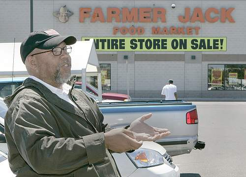 The Closing of Farmer Jack. Photo Credit: The Detroit News