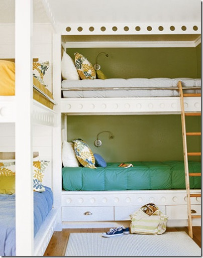 Cottage living bunk beds
