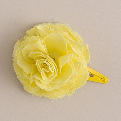 Cotton lawn flower pin jcrew