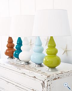 Garnet lamps