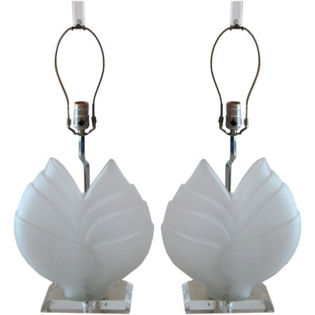 1st dibs lucite lamps