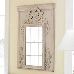 Floral mirror wisteria 719