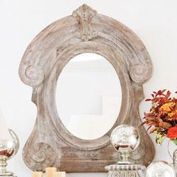 Oeil de bouef mirror wisteria