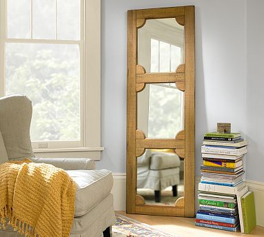 Wooden door mirror pb 199