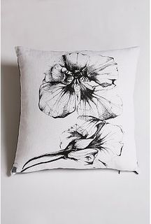 Line orchirds pillow urbano