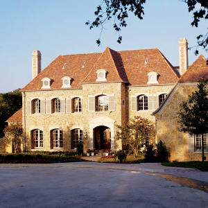 Dallas showhouse exterior