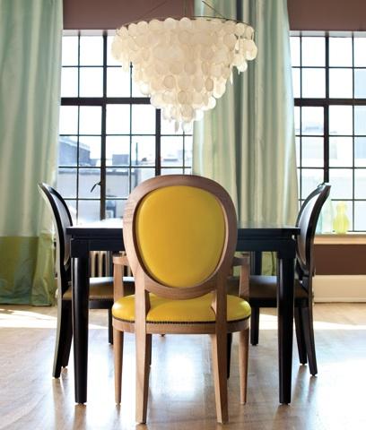 Serena chandelier room