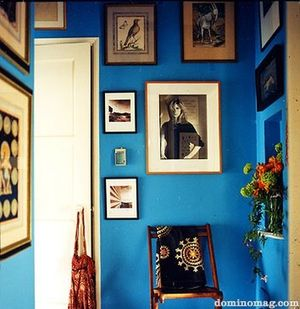 Dominomag blue room