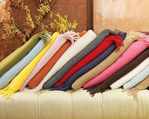 William sonoma cashmere throw