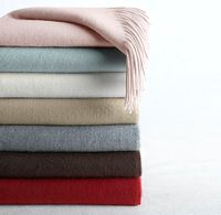 Restoration cashmere throw, $103.99