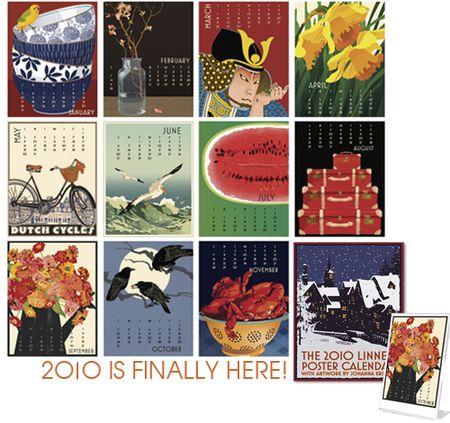 Linnea design calendar