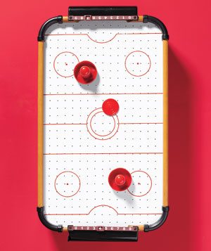 Air hockey table, jcpenney, 30