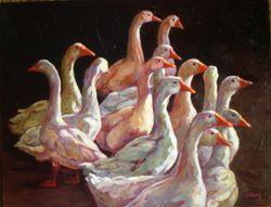 Goose necks