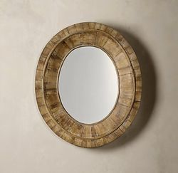 Rest oval mirror