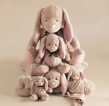 Cuddle plush bunnies