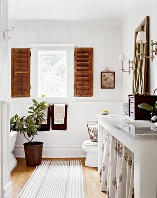 Bathroom via heidi claire