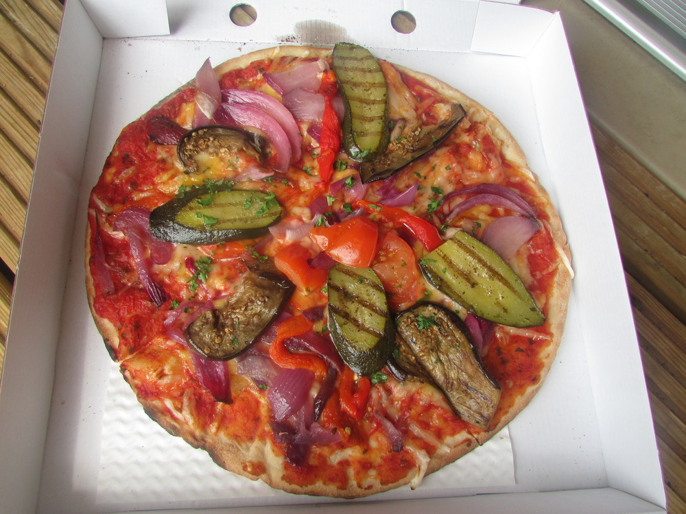 Basilico's Vegan Pizza