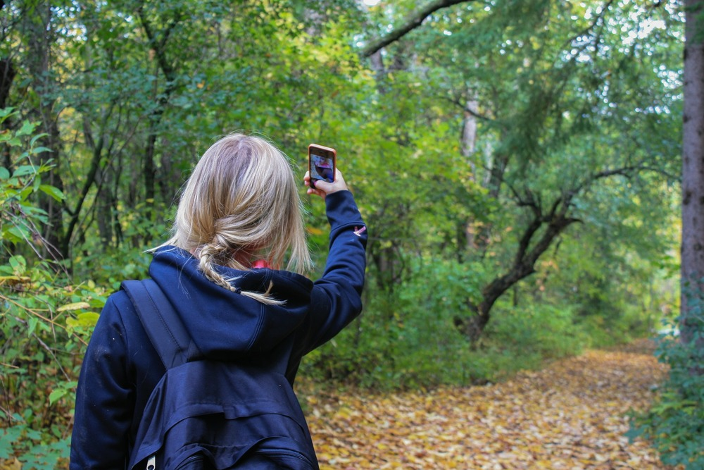 "How to construct an ""Outdoors-y"" identity. Show the world you getting back to Nature with your iPhone."