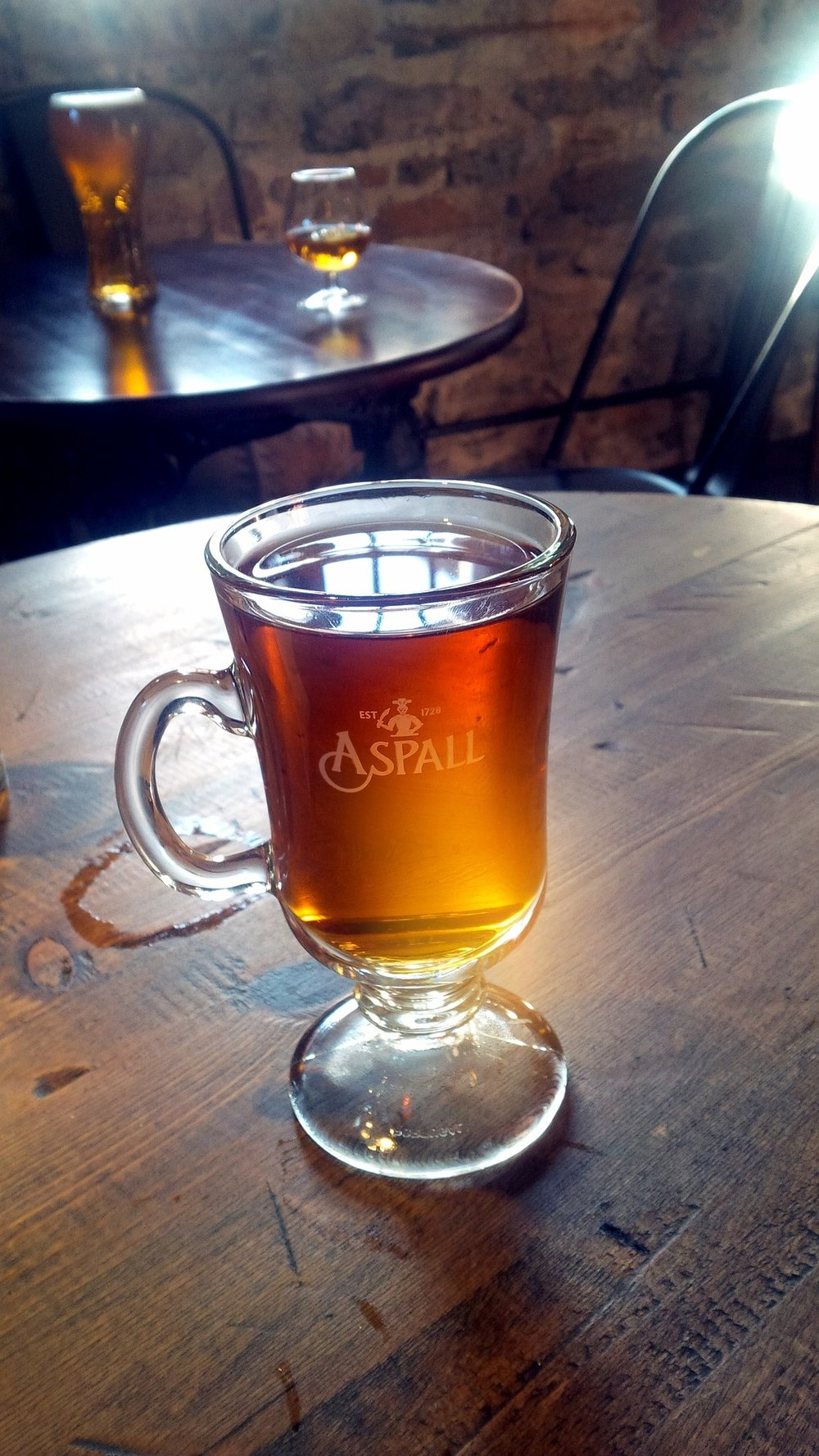 Can't beat a mulled cider...