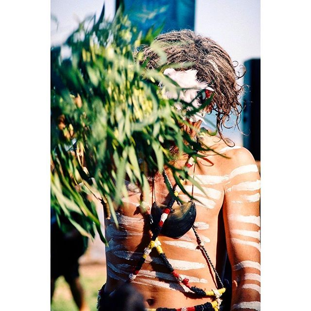"🌊✨🍃Quandamooka Ceremony ✨🍃 🌊 First Nations' people ""of the sand and water"" ✨ (Stradbroke Island, July, 2017)"